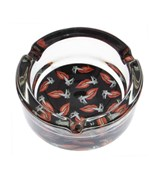 Glass Ashtray - Hot Lips