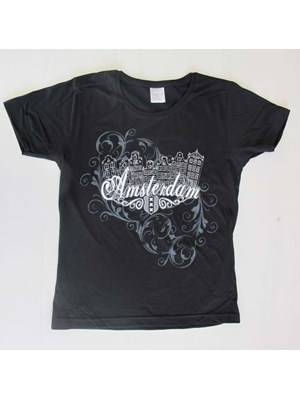 Amsterdam By Night- T-Shirt For Girls